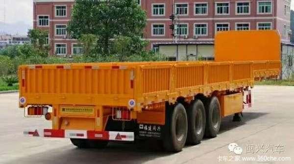湖南半挂车厂家直销集装箱式半挂车图片
