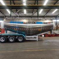 铝合金粉粒物料运输车粉粒物料运输半挂车
