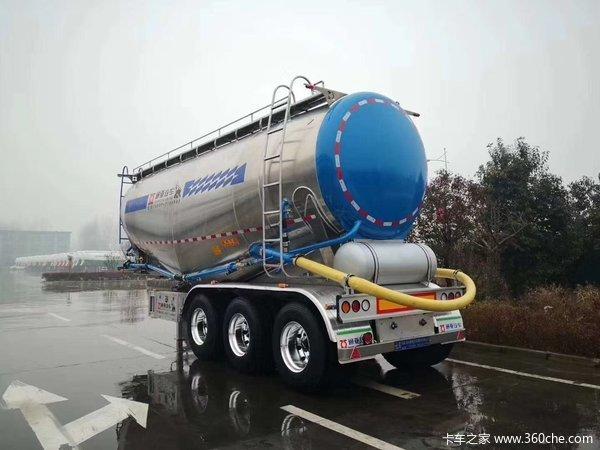 铝合金粉粒物料运输车粉粒物料运输半挂车图片