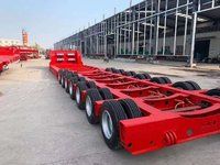 专业大件三线六轴四线八轴五线十轴各种大件运输车辆轴线挂车图片