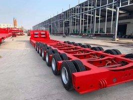 专业大件三线六轴四线八轴五线十轴各种大件运输车辆轴线挂车