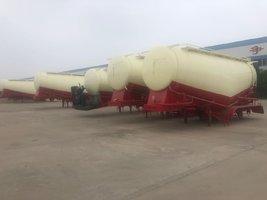 散装水泥罐厂家直销38方35方40方粉粒物料运输半挂车