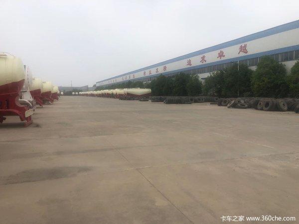 散装水泥罐厂家直销38方35方40方粉粒物料运输半挂车图片