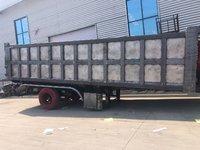 一体后翻1.6米厢高车长9米可以旧换新自卸半挂车图片